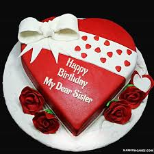 happy birthday my dear sister cake images