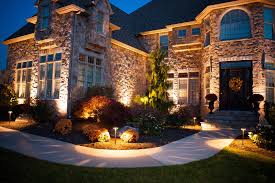 lighting for your home. Stone Home General Landscape Lighting For Your Y