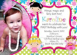 Fairy Birthday Invitations Birthday Invitation Card Sample