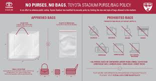 Toyota Park Seating Chart Chicago Open Air Stadium Policies Fc Dallas