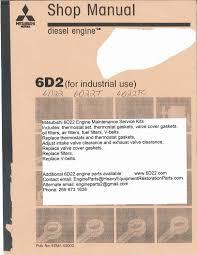 Eng Sys Light Mitsubishi Mitsubishi 6d22 6d22t 6d22tc Engine Service Manual Ii By