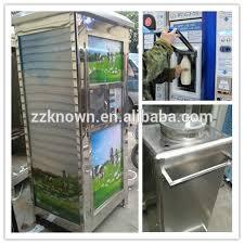 Milk Vending Machines For Sale Best Stainless Steel Coin Operation Milk VenderFresh Milk Vending