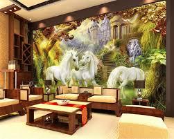 Beibehang Kinderkamer Achtergrond Decoratie 3d Behang Bos Witte