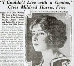 chaplin a life photo essays mildred harris when mildred and charlie first met he was the most famous movie star in the world and she was an aspiring 16 year old actress chaplin recalled ldquomildred