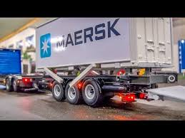 Pickup Truck Container Hauler Unload - YouTube | Trailers ...