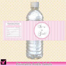 A Boy Bling Baby Shower Water Bottle Labels  StickersBaby Boy Shower Water Bottle Labels