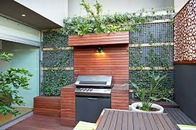 built in bbq. Built In Bbq Deck Contemporary With Potted Plants Modern Watering And Irrigation Equipment