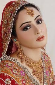 bride bridal makeup indianmakeup hindi mehindi tika ta