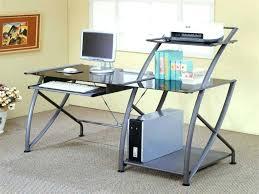 desks computer desk with glass top desks black metal laptop silk blac computer desk with