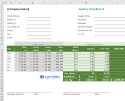 Excel Overtime Formula Excel Formula For Overtime Over 40 Hours With Free Template