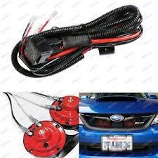 12v horn wiring harness relay kit for car truck grille mount blast image is loading 12v horn wiring harness relay kit for car