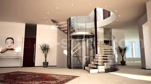 Stair Design Helical Staircase Wooden Steps Metal Frame Without Risers