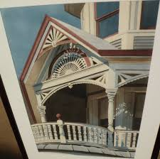 JAY RATHER 20th century American art fine detail realism ...