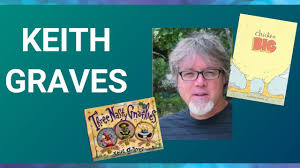 Author Keith Graves - Story Time, Interview & Draw Along! - YouTube