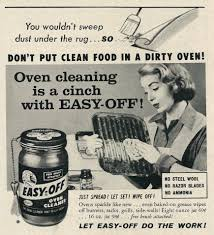 1958 ad easy off oven cleaner 1950 s housewife tagline flickr 1958 ad easy off oven cleaner 1950 s housewife by classic film