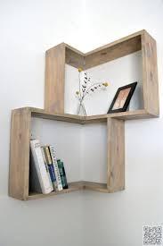 splendid diy wood corner shelf plans small shelving wondrous modern furniture best built bookshelves size large wall mounted dvd storage outside plant
