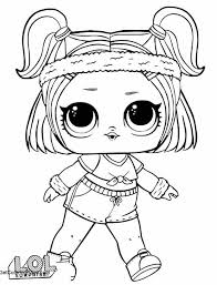 Free Lol Doll Coloring Pages Printable And Free Get Coloring Page