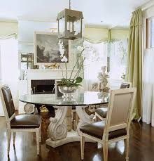 when it comes to a round dining table a center base is more convenient that trying to navigate chairs around table legs happy dining