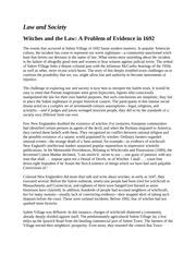 hist us history richland community college page  7 pages law and society witches
