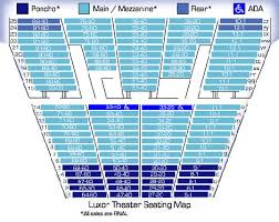 Complete Luxor Show Seating Chart Best Seats At Luxor Theater