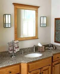 mission style bathroom vanity plans vanities graceful lighting light fixtures craftsman bat