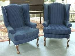 blue wingback chair. Navy Wingback Chair Blue Chairs Wing Back Armchairs And A . E