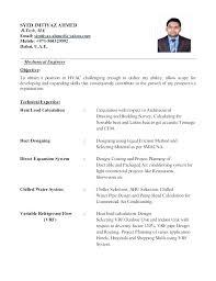 Sample Hvac Engineer Cover Letter Cover Letter Sample Technician