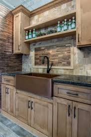 Mosaic Tile Kitchen Floor Warm Woodsy Hues Of Dark Mahogany For Your Kitchen Floor Tile