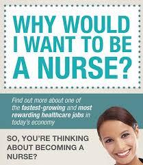 I Want To Be A Nurse Why Would I Want To Be A Nurse