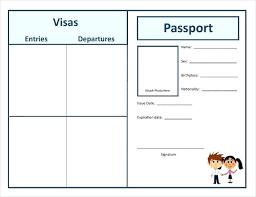 Free Passport Template For Kids Passport Coloring Page Simple Passport Coloring Page Kids Pages 60