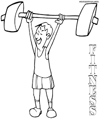 Small Picture Fitness coloring pages Coloring pages to download and print