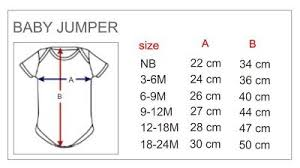 Jumper Size Chart Baby Jumper Size Chart Google Search Crochet Baby Size
