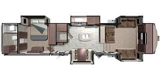 >2018 highland ridge open range fifth wheel floorplans genuine rv of370rbs