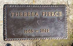 Theresa Ruby Outwater Pierce (1940-2012) - Find A Grave Memorial