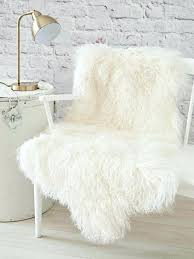 4x6 faux sheepskin rug round fur brown small white lambskin interior giant large best rugs fa