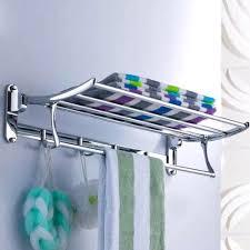 stainless steel bathroom shelves. Modern Towel Rack. Enjoyable Bar Stainless Steel Bath Mirror Polished Rack Bathroom Accessories Cm Shelves E