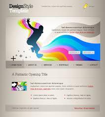Creative Design Templates Creative Design Websites Templates My Ways Web Template 6104
