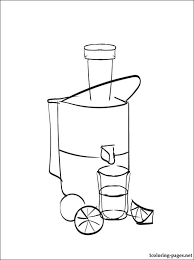 Small Picture Juicer coloring page Coloring pages