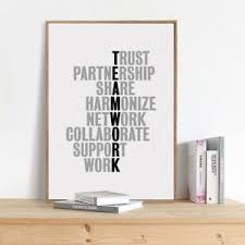 office canvas art. Image Is Loading TeamWork-Motivational-Quotes-Canvas-Art-Print-Office -Poster- Office Canvas Art