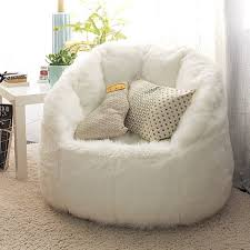 create the perfect cozy reading nook with the milano beanbag in white photo