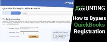 how to byp quickbooks registration