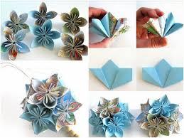 Homemade Paper Flower Decorations Diy Paper Flower Ornaments Zlatan Fontanacountryinn Com