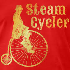 steam cycler bicycle design ancient gold