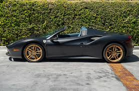 1/18 mr collection ferrari 812 gts spider matte grey black wheel carbon base. 2018 Ferrari 488 Spider Extra Campionario Pcarmarket