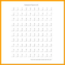 Free Printable Addition And Subtraction Worksheets Free Math ...