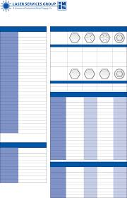 Metric Tap And Drill Chart Ims Industrial Metal Tap