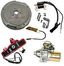 honda gx electric start wiring diagram honda amazon com new honda gx270 9hp electric start kit starter motor on honda gx340 electric start gx200 electric start wiring diagram