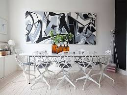 wanna have an attractive dining room