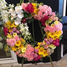 spring mixed wreath