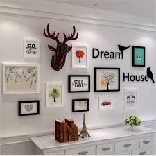 Office wall frames Wall Design Photo Frames For Picture Style Photo Frame Wall Office Wall Hanging Decoration Cadre Photo Vintage Picture Frames Multiszie Aliexpress Photo Frames For Picture Style Photo Frame Wall Office Wall Hanging